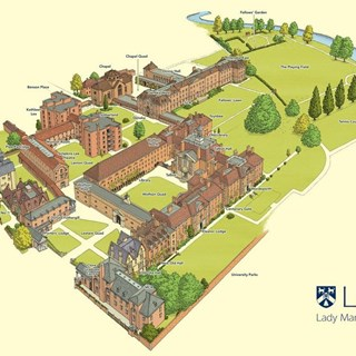 Lady Margret Hall map.JPG